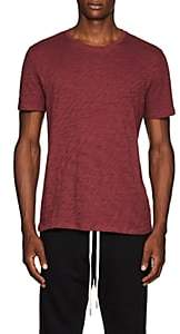 ATM Anthony Thomas Melillo Men's Slub-Knit Cotton Crewneck T-Shirt - Red