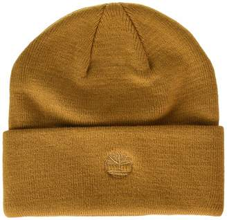 68a6cee4 Timberland Men's Cuffed Beanie with Embroidered Logo