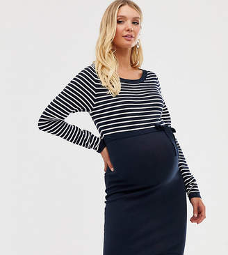 7dcbdf10adad8 Mama Licious Mama.Licious Mamalicious stripe 2-in-1 knit dress