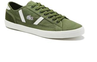 Lacoste Men's Sideline Canvas and Leather Sneakers