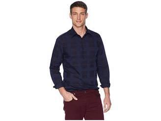 Perry Ellis Large Plaid Multi Check Shirt