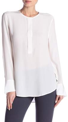 Equipment Mabel Long Sleeve Silk Blouse