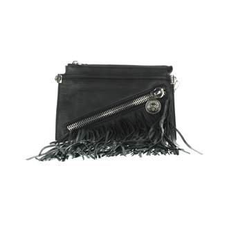 Versus Black Leather Handbag