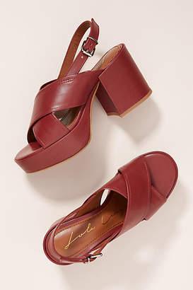 Lola Cruz Platform Heeled Sandals