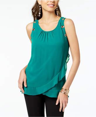 Thalia Sodi Tulip-Hem Top, Created for Macy's