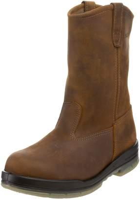 Wolverine Men's W03258 DuraShock Waterproof Steel-Toe Boot Malt 10.5 XW US