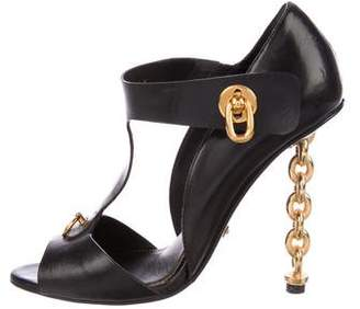 Tom Ford Embellished T-Strap Sandals