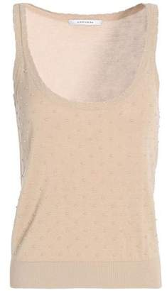 Carven Flocked Knitted Tank