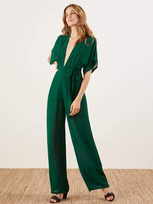 Reformation Lemongrass Jumpsuit
