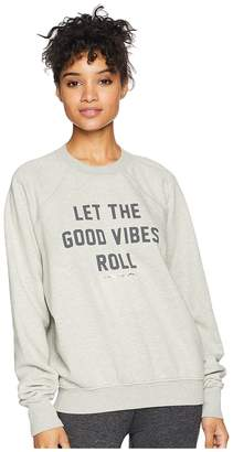 Spiritual Gangster Vibes Roll Perfect Pullover Women's Sweater