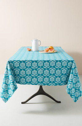 Anthropologie Floral Tablecloth