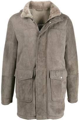 Al Duca D'Aosta 1902 fully-lined hooded coat