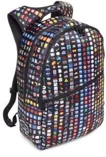 Terez Kid's Emoji Print Backpack