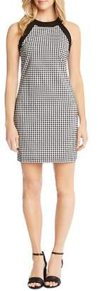 Karen Kane Contrast Gingham Dress