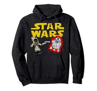 Star Wars Jawa R2-D2 Shocking Sketch Pullover Hoodie