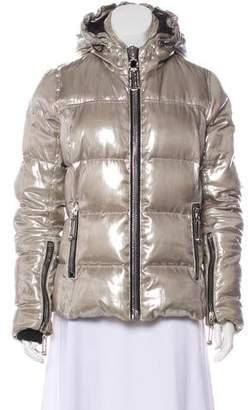Philipp Plein Metallic Distressed Jacket