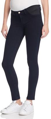 J Brand Mama J Skinny Maternity Jeans in Bluebird $198 thestylecure.com