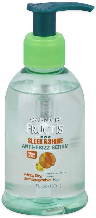 Garnier® Fructis® 5.1 oz. Sleek & Shine Anti-Frizz Serum with Argan Oil & Apricot