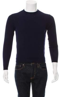 Ralph Lauren Purple Label Wool Crew Neck Sweater