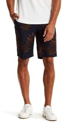 Vince Palm Tree Print Shorts