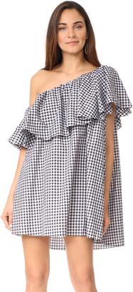 MLM LABEL One Shoulder Maison Dress $187 thestylecure.com