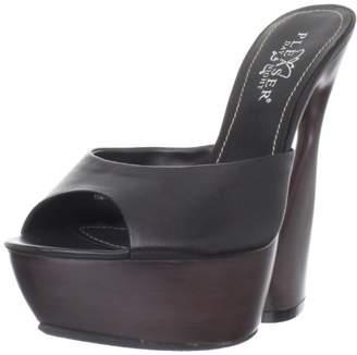 Pleaser USA Women's Swan-601/BLE Platform Sandal