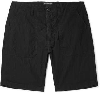 The Workers Club Washed Cotton And Nylon-Blend Shorts