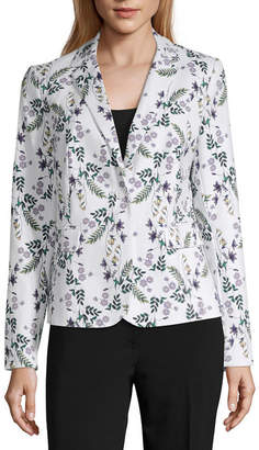 Liz Claiborne One Button Jacket - Tall