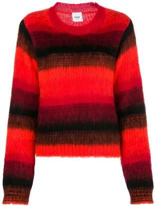 Dondup gradient long-sleeve sweater