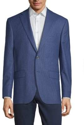 Jack Victor Conway Textured Wool Jacket