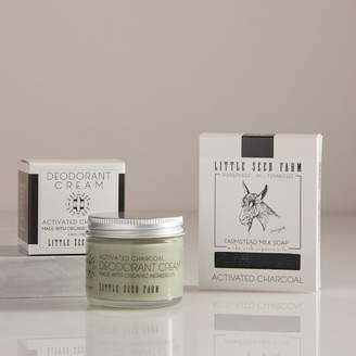 west elm Little Seed Farm Deodorant Cream + Bar Soap Set