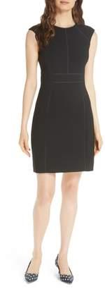 Kate Spade crepe sheath dress