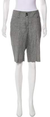 MICHAEL Michael Kors Checkered Knee-Length Shorts