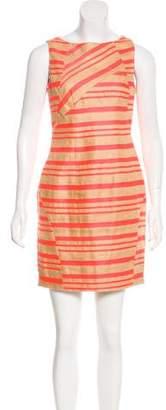 Thakoon Linen-Blend Striped Dress