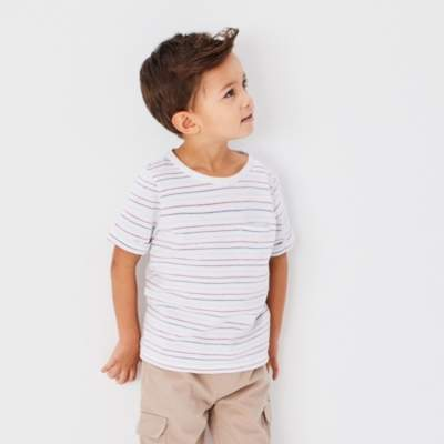 Textured Stripe T-Shirt (1-6yrs)