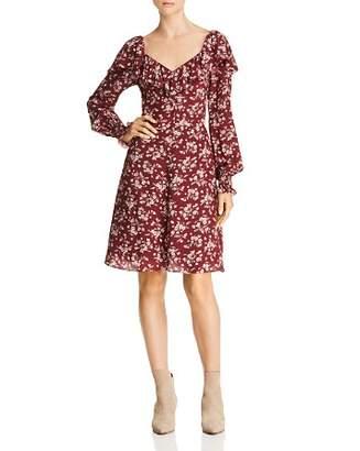 Rebecca Taylor Tilda Floral Silk Dress