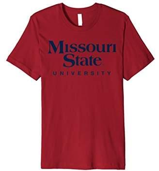 NCAA Missouri State University Short Sleeve T-Shirt 03MSS1