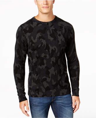 Club Room Men's Camo Cashmere Sweater