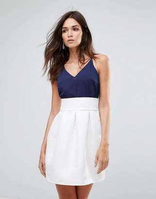 AX Paris Contrast Skirt Skater Dress