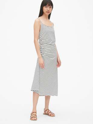 Gap Ruched Cami Midi Dress