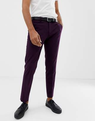 Jack and Jones Slim Fit Suit Trouser With Stretch