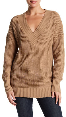 Abound Chunky V-Neck Sweater $28.97 thestylecure.com