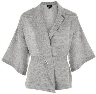 Topshop Marl wrap kimono jacket $95 thestylecure.com