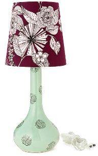 Flavia Ceramic Lamp, Menta