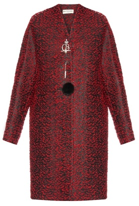 Balenciaga Chintz tweed wool-blend coat