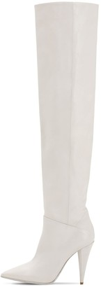 Strategia 100MM TATI LEATHER OVER-THE-KNEE BOOTS