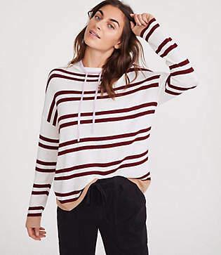 Lou & Grey Shimmer Stripe Sweater