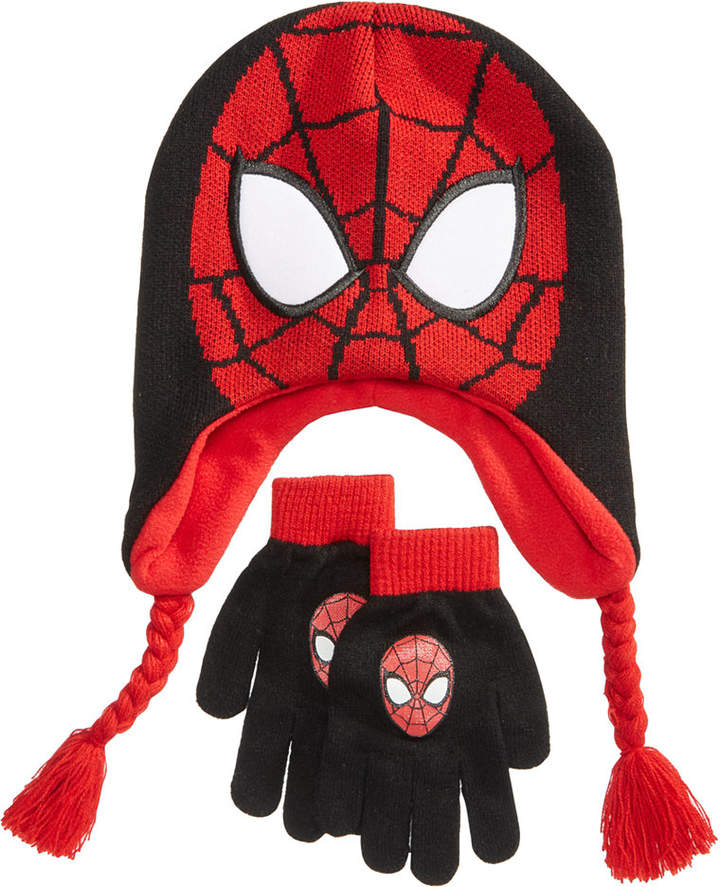 Marvel's Spider-Man 2-Pc. Hat & Gloves Set, Little Boys & Big Boys