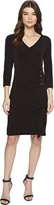 Calvin Klein Women's Dresss with Lacing on Side