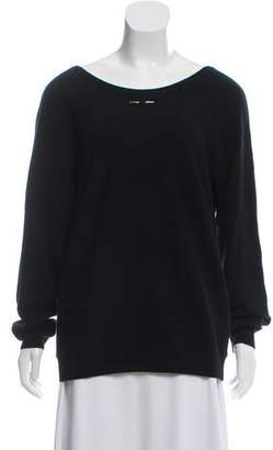 Barbara Bui Cashmere Scoop Neck Sweater w/ Tags
